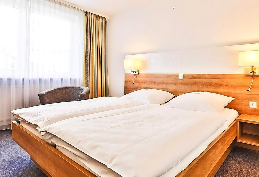 Beispiel eines Doppelzimmers im Hotel-Gasthaus Krone