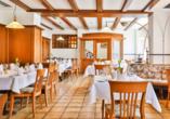 Freuen Sie sich auf kulinarische Gaumenfreuden in schöner Atmosphäre.