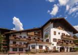 Hotel Stella Alpina in Bellamonte, Italien, Außenansicht