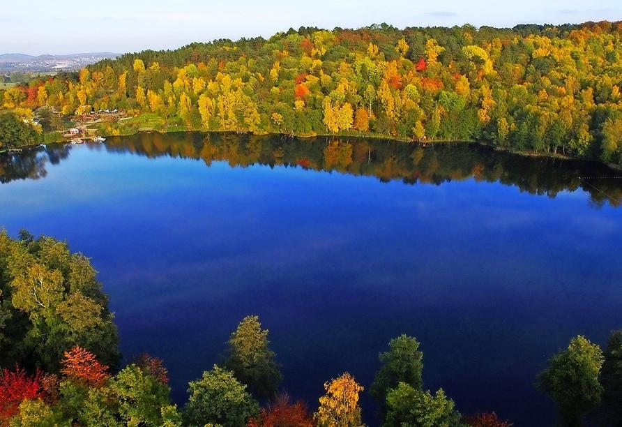 Der Ferienwohnpark Silbersee heißt Sie und ihre Familie herzlich am malerischen Silbersee willkommen!