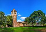Bad Hersfeld ist nicht nur wegen seiner Altstadt und der Quellen, sondern auch wegen der imposanten Stiftsruine immer einen Ausflug wert.
