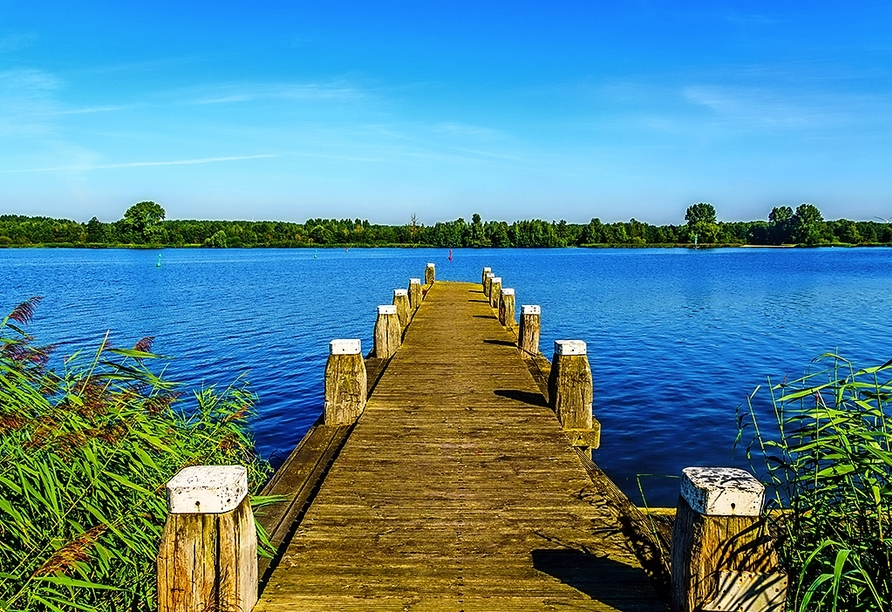 Das Vogelschutzgebiet am Veluwemeer ist immer einen Ausflug wert.