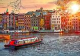 Die niederländische Hauptstadt Amsterdam ist ein absolutes Highlight!
