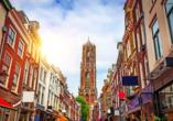 Erkunden Sie die malerische Altstadt von Utrecht.