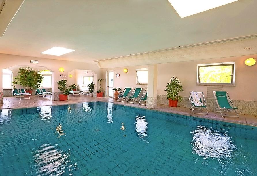 Thermal-Hallenbad im Hotel Terme Villa Teresa