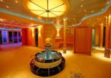 Die Sauna im Kurhotel Hochsauerland 2010.