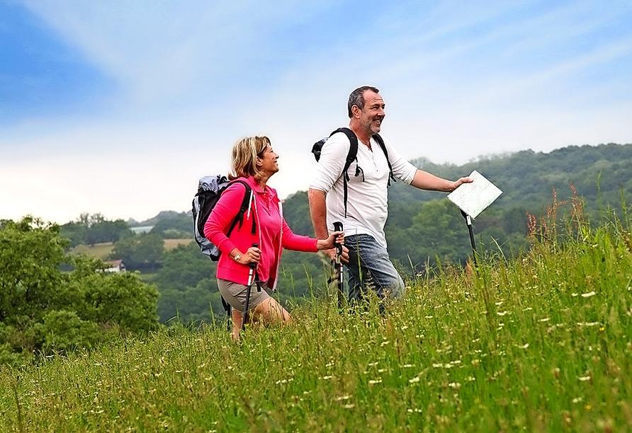 Freuen Sie sich auf die zahlreichen Wanderwege in der Umgebung.