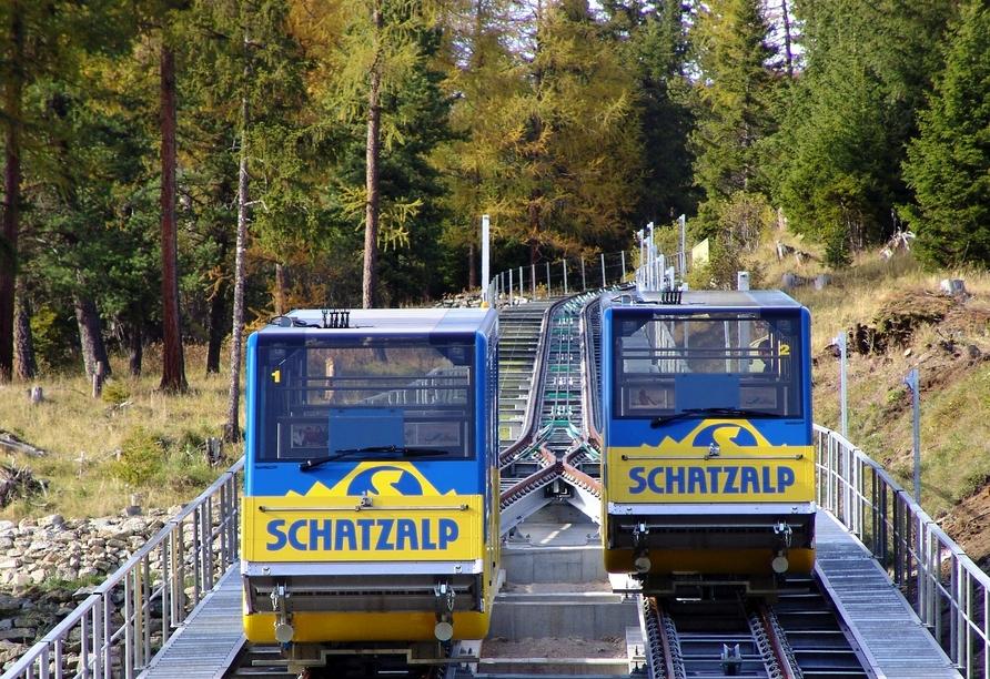 Hotel Europe in Davos Platz, Schatzalpbahn