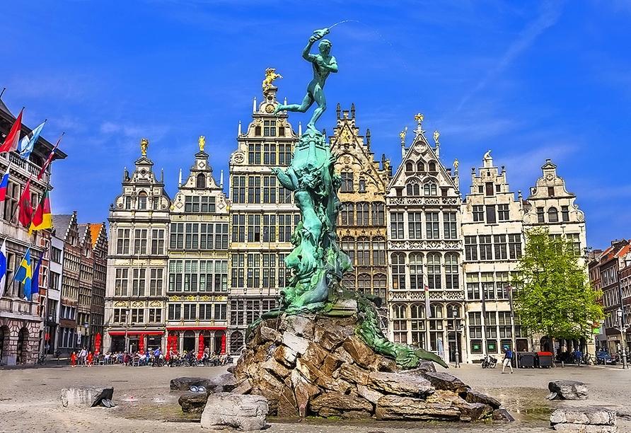DCS Amethyst, Antwerpen