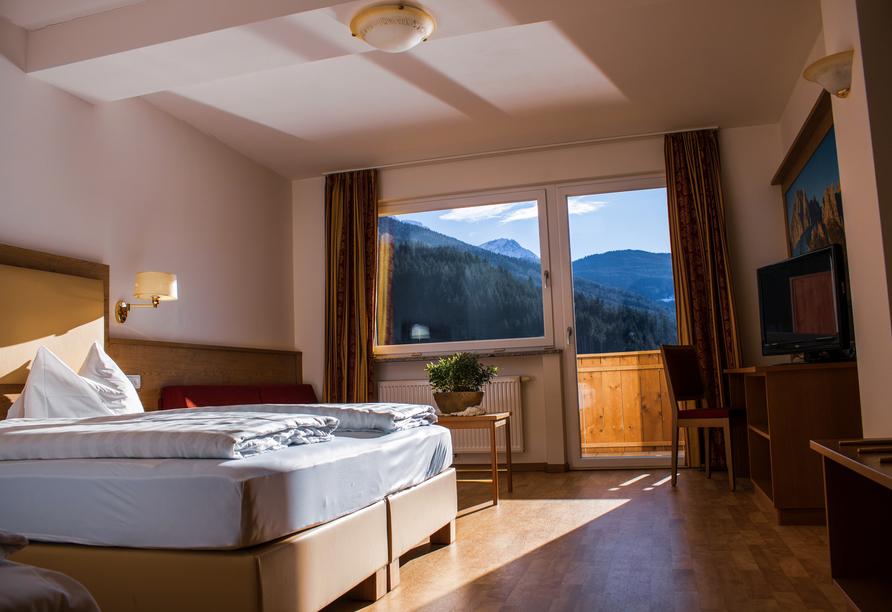 Hotel Seehof in Welsberg, Zimmerbeispiel