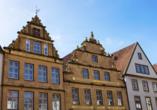 Die herrliche Altstadt von Bielefeld lädt zum Schlendern und Staunen ein.