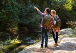 Entdecken Sie die herrliche Natur des Teutoburger Waldes bei einer ausgiebigen Wanderung.