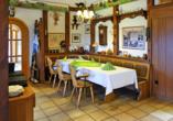 Gemütliches Restaurant im Hotel zur Spreewälderin in Golßen