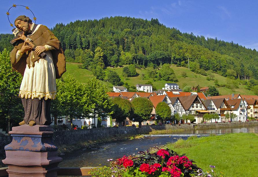 Freuen Sie sich auf erholsame Tage in Wolfach.