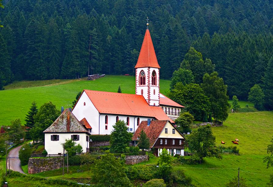 Die Wallfahrtskirche St. Roman in Wolfach
