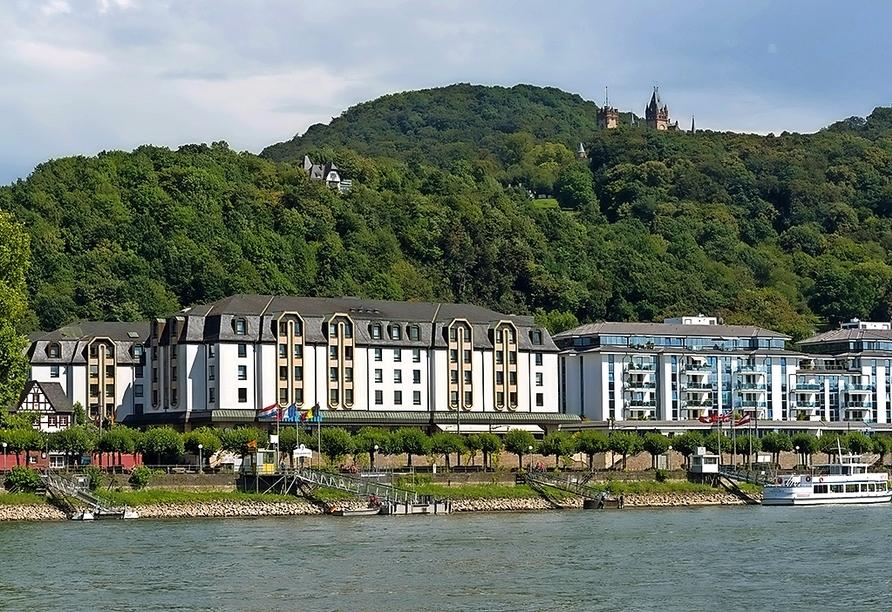 Außenansicht vom Maritim Hotel Königswinter