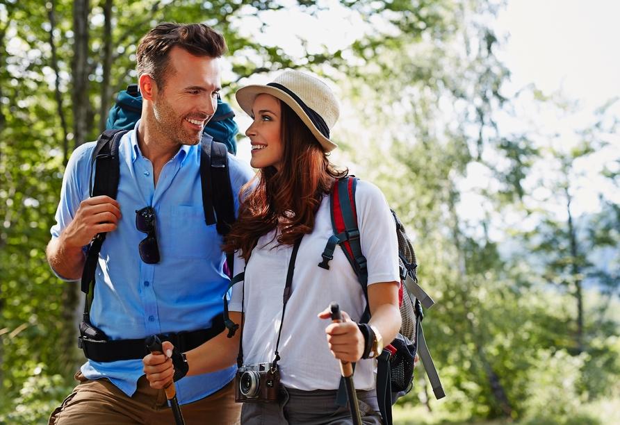 Schnappen Sie sich die Wanderschuhe und erkunden Sie das Siebengebirge!