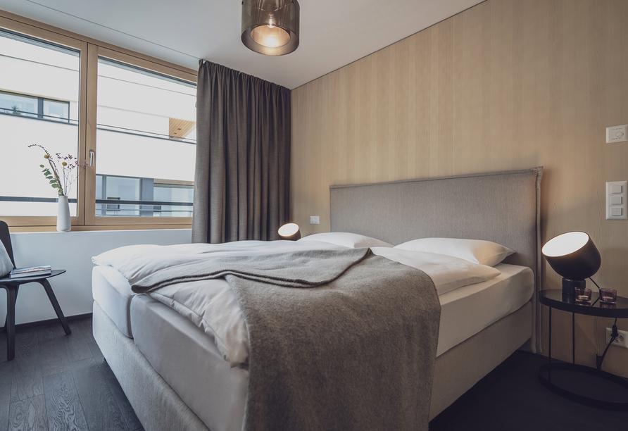 Parsenn Resort Davos Schweiz, Schlafzimmerbeispiel