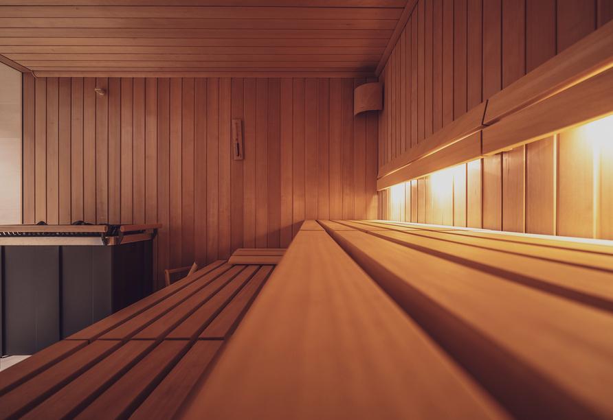 Parsenn Resort Davos Schweiz, Sauna