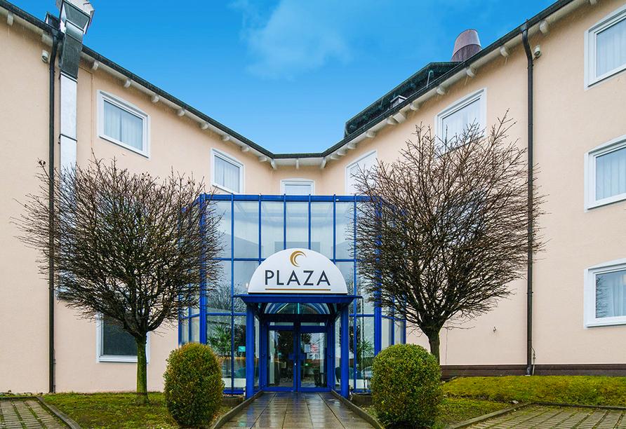Außenansicht vom PLAZA Hotel Mühldorf am Inn