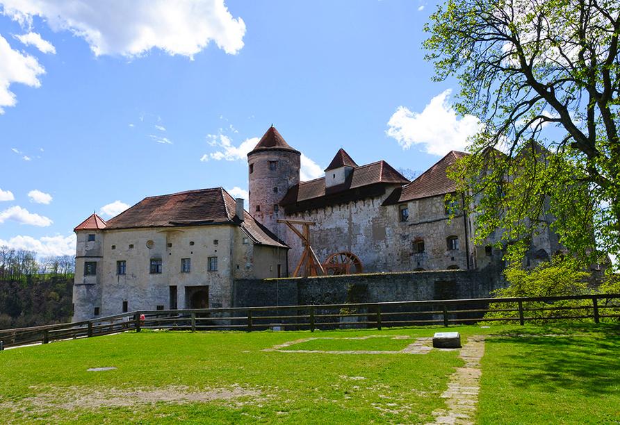 Die Burg von Burghausen ist die längste Burg der Welt.