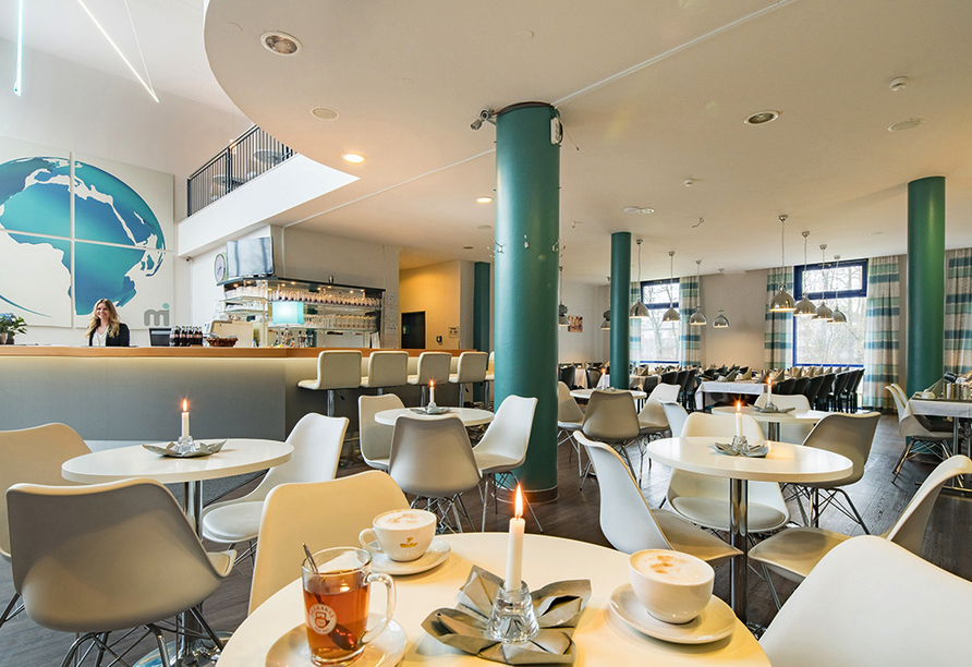 Lobby vom PLAZA Hotel Mühldorf am Inn