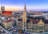Unternehmen Sie einen Ausflug nach München.
