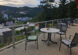 Hotel Panorama in St. Joachimsthal, Terrasse