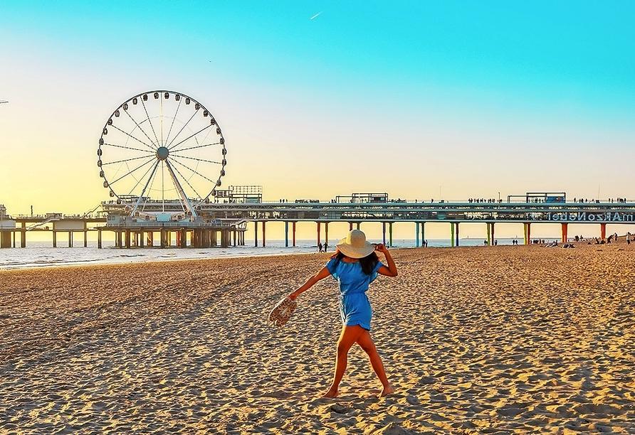 Als einzige Großstadt mit einem Strand entlang der Nordseeküste bietet Den Haag die perfekte Mischung aus Städte- und Strandurlaub.