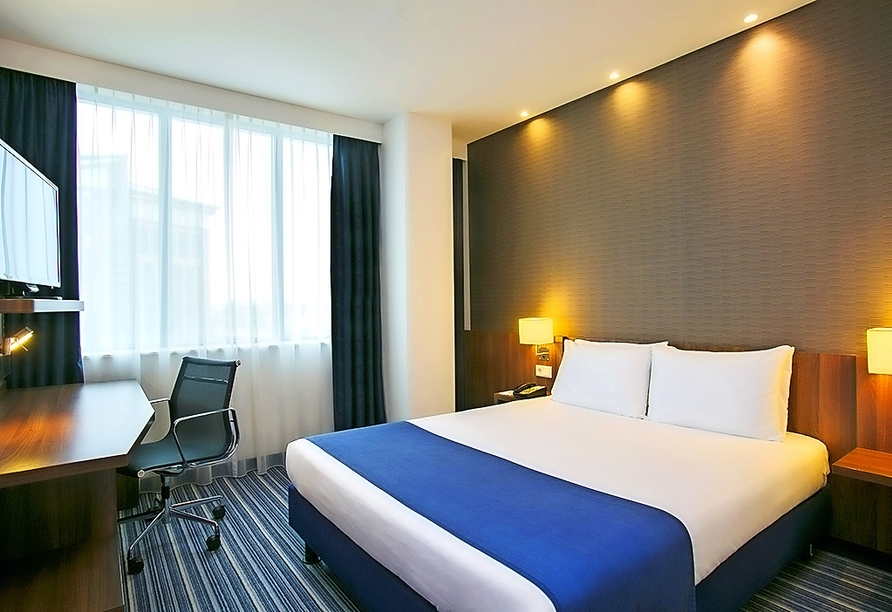 Beispiel eines Doppelzimmers im Holiday Inn Express The Hague – Parliament
