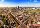 Verbringen Sie eine abwechslungsreiche und erholsame Zeit in der Großstadt Den Haag.