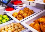 In Ihrem Urlaub im Holiday Inn Express The Hague – Parliament erwartet Sie ein leckeres Frühstücksbuffet.