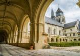 Die Abtei von Fontevraud ist wahrhaft königlich.