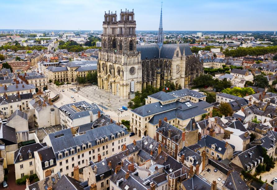 Die Kathedrale Sainte Croix in Orléans