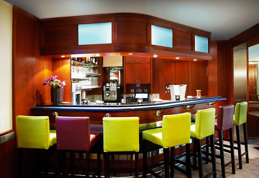 In der Bar des Hotels gibt es leckere Getränke.