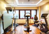 Zm Auspowern steht Ihnen der Fitnessraum des Leonardo Hotels & Residenz München zur Verfügung.