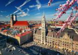 Entdecken Sie die Sehenswürdigkeiten Münchens.