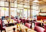 Frühstücksrestaurant im Leonardo Hotel & Residenz München.