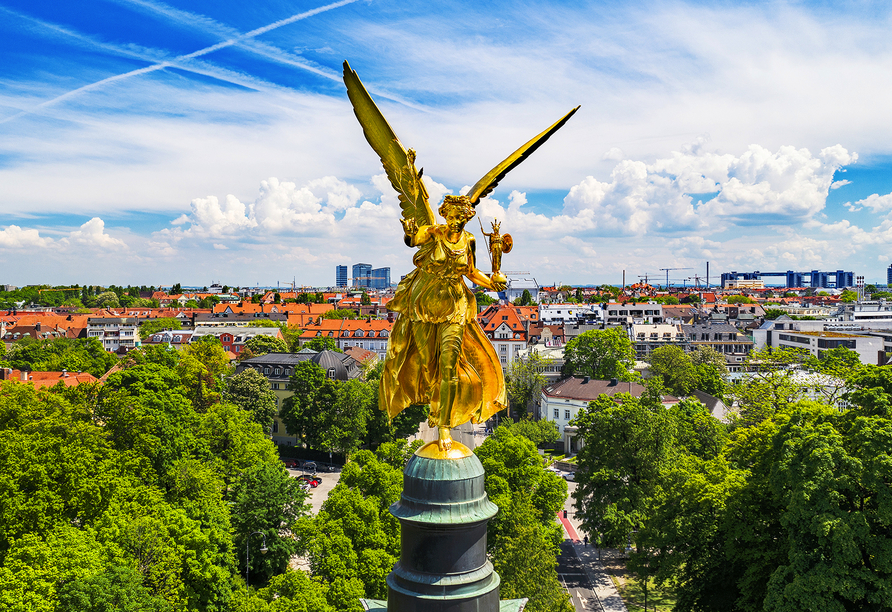 Willkommen in der Landeshauptstadt Bayerns!