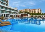 Das Meliã Madeira Mare Resort & Spa lädt zum Entspannen und Wohlfühlen ein.
