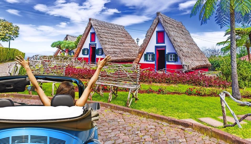 Erkunden Sie die vielfältige Insel auf eigene Faust und besuchen Sie zum Beispiel Santana.
