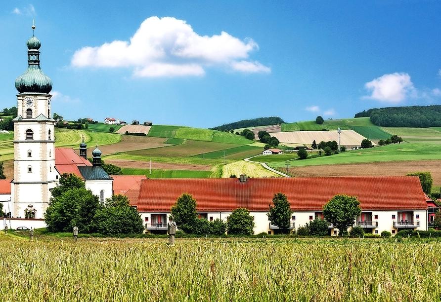 Hotel Klosterhof in Neukirchen im Bayerischen Wald, Außenansicht