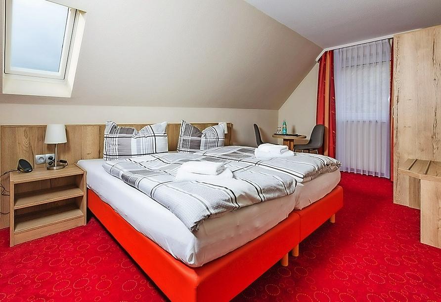 Waldhotel Altenbrak in Thale, Zimmerbeispiel