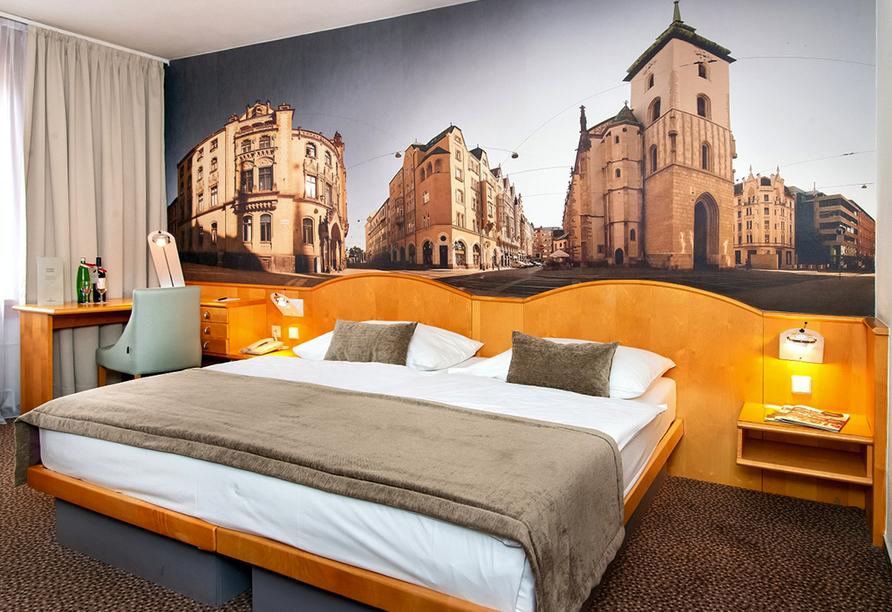 Hotel Cosmopolitan Bobycentrum, Zimmerbeispiel