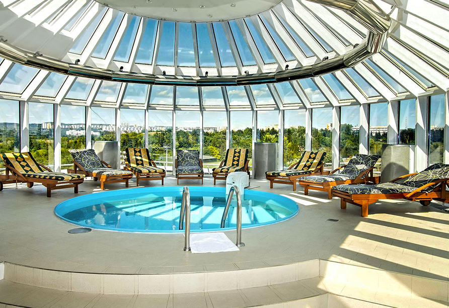 Hotel Cosmopolitan Bobycentrum, Whirlpool