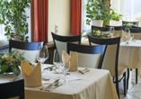 Restaurant des Moselstern Parkhotel Krähennest in Löf