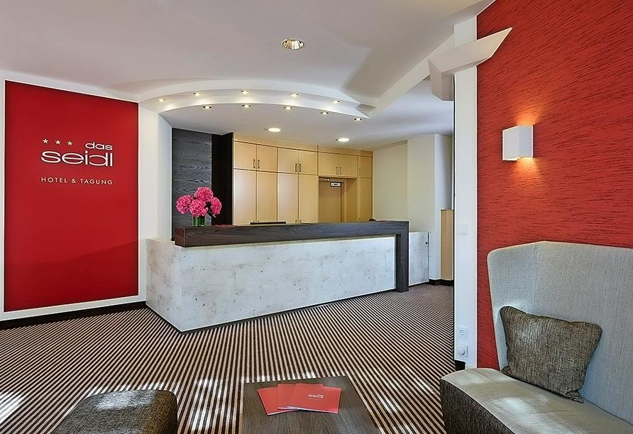 das seidl Hotel & Tagung in Puchheim bei München, Rezeption