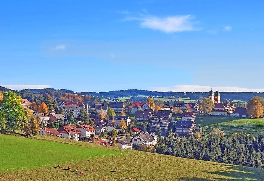 Hotel Der Hirschen in St. Märgen, Ihr Urlaubsort