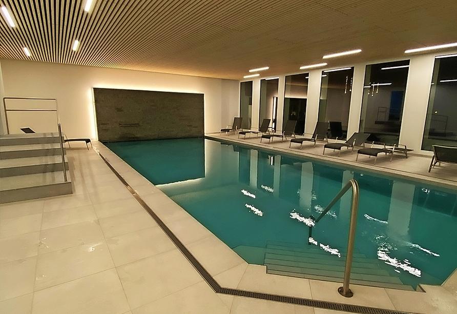 Hotel Meierhof Davos, Schweiz, Hallenbad
