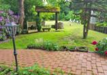 Gartenanlage vom PRIMA Hotel Harzromantik.